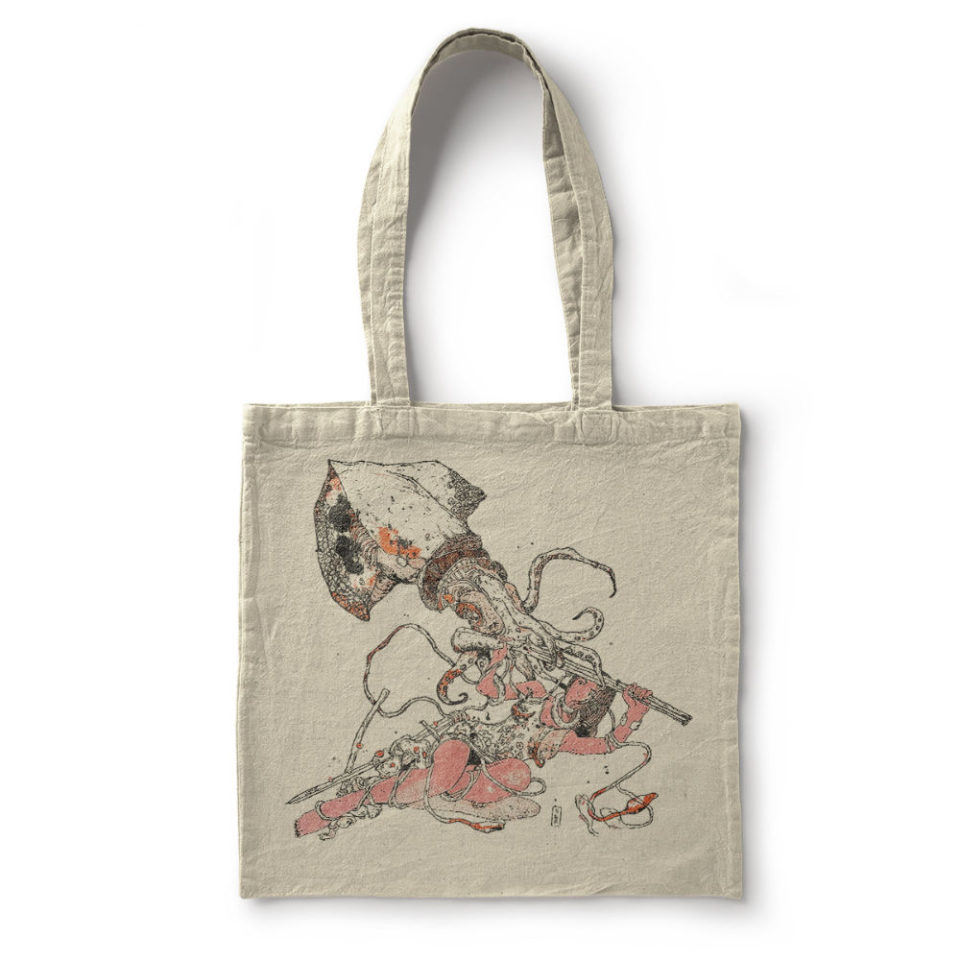 10 YEARS OF HORROR & ROMANCE – TOTE BAG